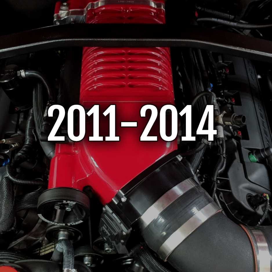 2011-2014 Mustang GT Whipple Kits