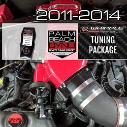 2011-2014 SCT Whipple Custom Tuning Package