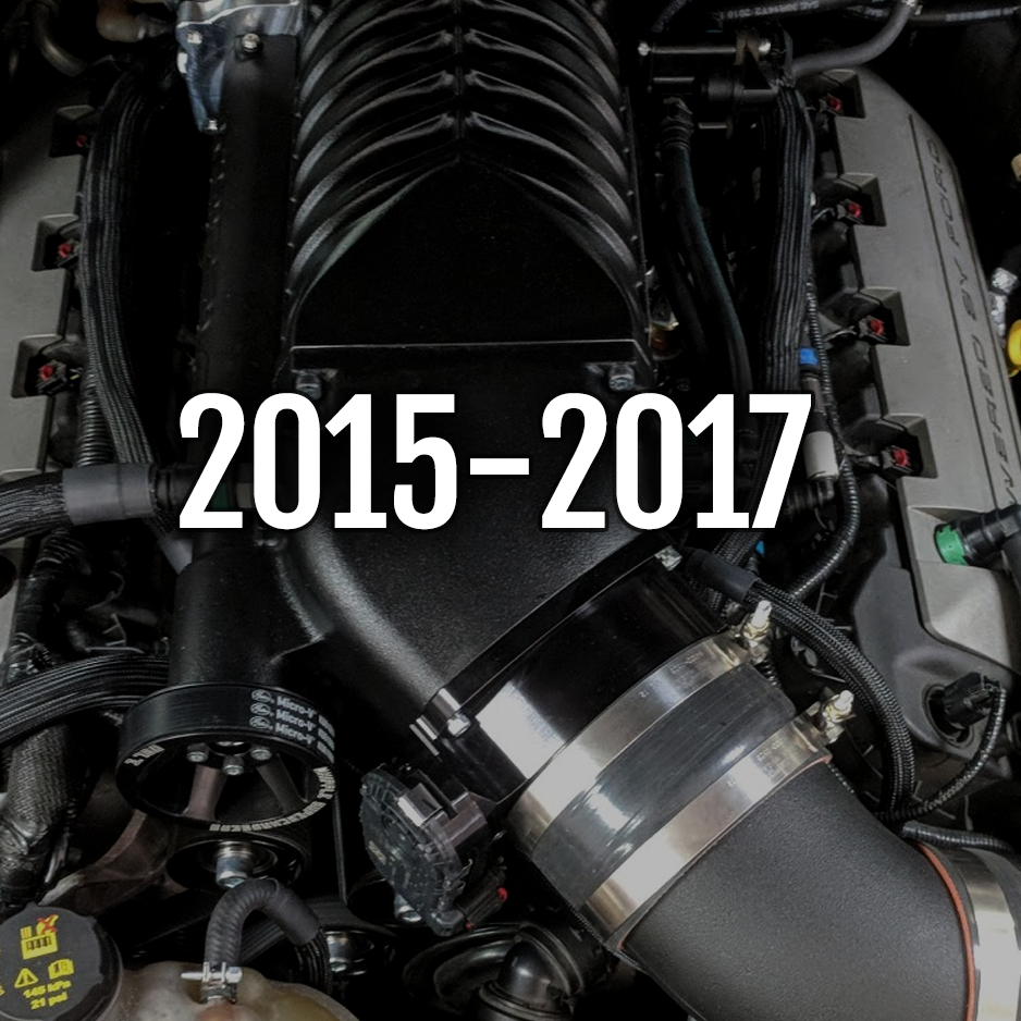 2015-2017 Mustang GT Whipple Kits