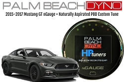 2015-2017 Mustang nGauge with Naturally Aspirated PBD Custom Tuning