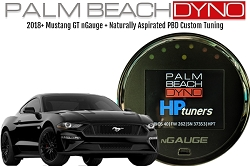 2018+ Mustang GT nGauge with Naturally Aspirated PBD Custom Tuning