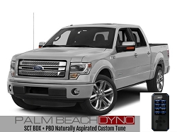 SCT BDX Programmer with Naturally Aspirated PBD Custom Tuning for 2011-2017 F150 Coyote V8
