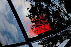 Palm Beach Dyno Decals (set of 4)