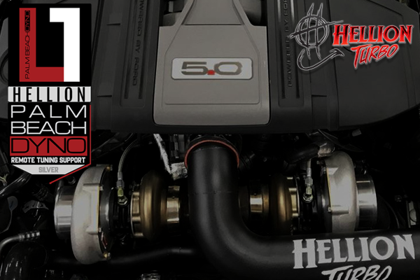 PBD Level 1 Hellion 2015-2017 Ford Mustang GT Top Mount Twin Turbo System