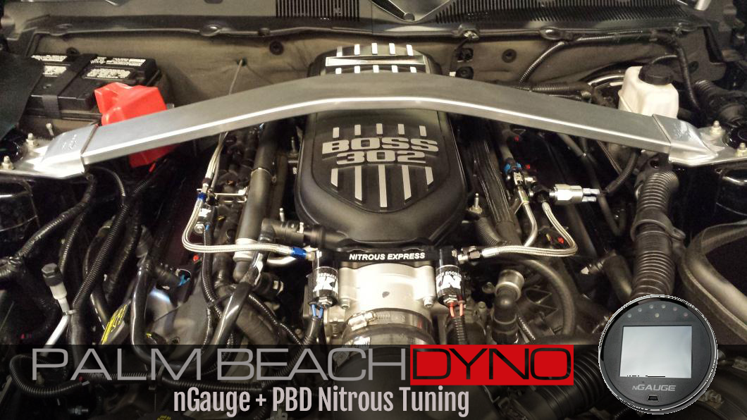 2018+ Mustang GT nGauge with Nitrous PBD Custom Tuning