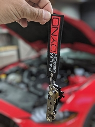 Palm Beach Dyno Keychain