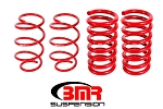 Lowering Springs, Set Of 4, Drag Version