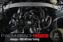 2018+ GT350 nGauge with PBD Nitrous Tuning