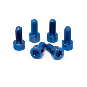 SPE 2020 GT500 Titanium Hardware Kit - BLUE