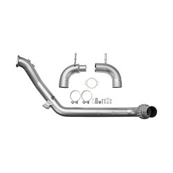 CP-E Downpipe QKspl Off-Road Stainless Steel 3