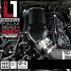PBD Level 1 2.9L Whipple Supercharger System for 2011-2014 Mustang GT with Palm Beach Dyno Custom Tune