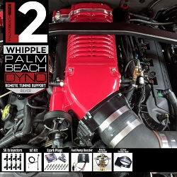 PBD Level 2 2.9L Whipple Supercharger System for 2011-2014 Mustang GT with Palm Beach Dyno Custom Tune