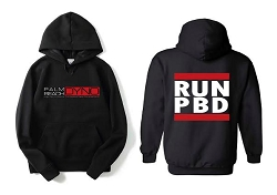 Palm Beach Dyno Hoodie Sweatshirt - RUN PBD