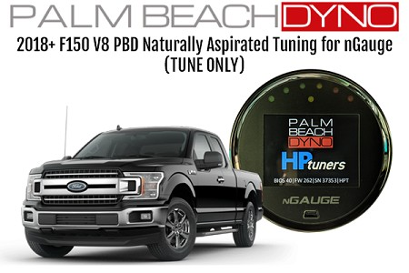 Naturally Aspirated PBD Custom Tuning for 2017+ Ford F150 V8 for nGauge (TUNE ONLY)
