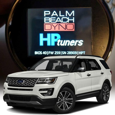 2013-2017 Ford Explorer 3.5L Ecoboost HP Tuners nGauge with Palm Beach Dyno Custom Tuning