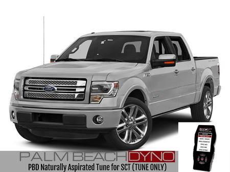 2011-2017 Ford F150 V8 Palm Beach Dyno Naturally Aspirated Tuning for SCT (TUNE ONLY)