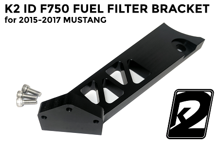 K2 ID F750 Fuel Filter Bracket for 2015-2017 Mustang GT