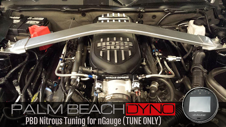 Palm Beach Dyno Nitrous Tuning for nGauge (TUNE ONLY)