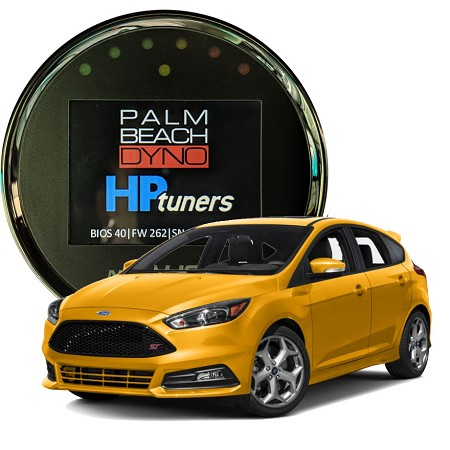 2013-2018 Ford Focus ST Ecoboost HP Tuners nGauge with Palm Beach Dyno Custom Tuning