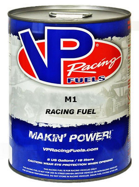 VP Racing Fuel M1 Methanol 5 Gallon Can