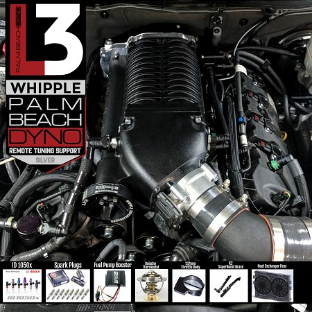 PBD Level 3 2 9L Whipple 2011-2014 Mustang GT Supercharger System