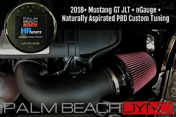 nGauge and JLT CAI with Naturally Aspirated PBD Custom Tuning for 2018+ Mustang GT