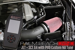SCT X4 Programmer +  JLT CAI with Naturally Aspirated PBD Custom Tuning for 2015-2017 Mustang GT