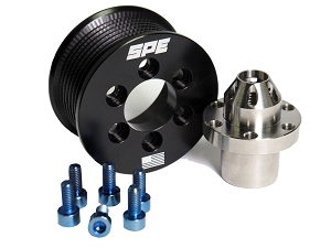 SPE 2020 GT500 Pulley Kit - Stainless Steel Hub