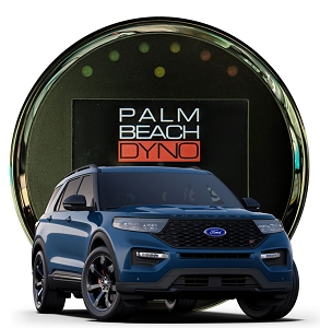 2020-2022 Ford Explorer ST 3.0L Ecoboost HP Tuners nGauge with Palm Beach Dyno Custom Tuning
